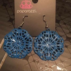 Paparazzi Accessories Blue Earrings